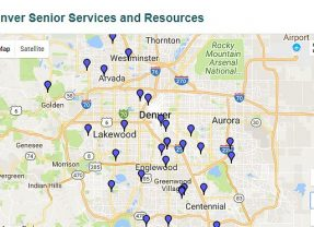 Senior Housing Listings with Google Maps